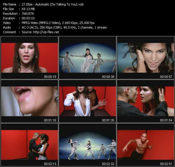 Elize video screenshot
