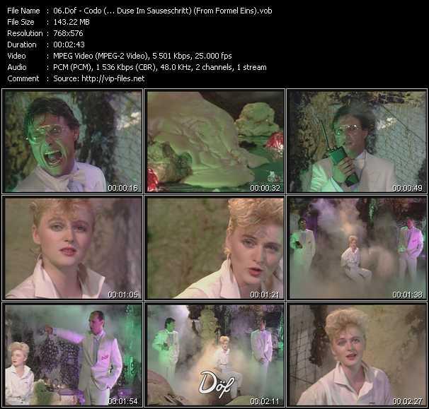 Dof video screenshot