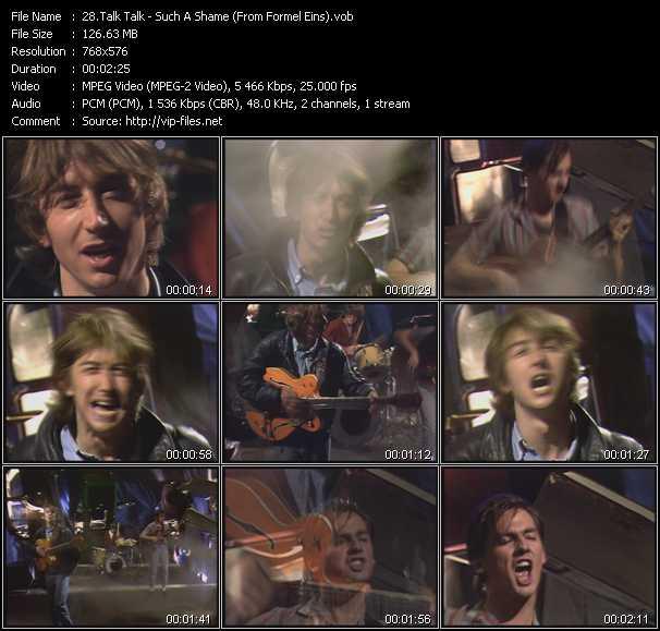 Talk Talk video screenshot