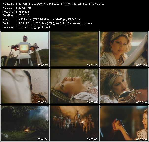 Jermaine Jackson And Pia Zadora video screenshot
