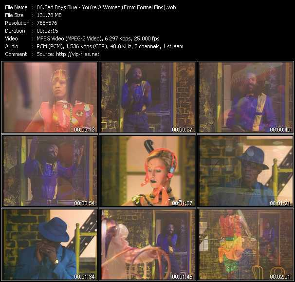 Bad Boys Blue video screenshot