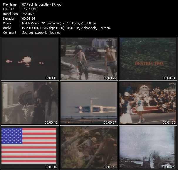 Paul Hardcastle video screenshot