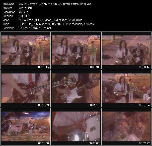 Phil Carmen video screenshot