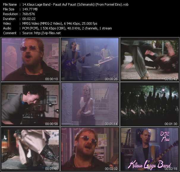 Klaus Lage Band video screenshot
