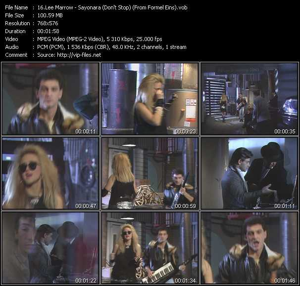Lee Marrow video screenshot