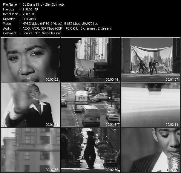 Diana King video screenshot