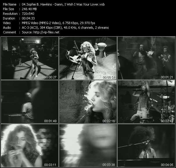 Sophie B. Hawkins video screenshot