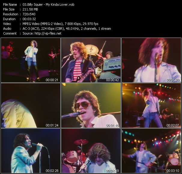 Billy Squier video screenshot