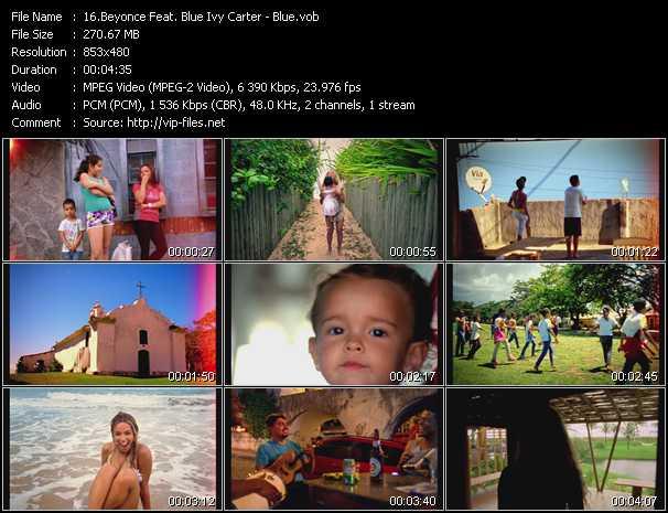 Beyonce Feat. Blue Ivy Carter video screenshot