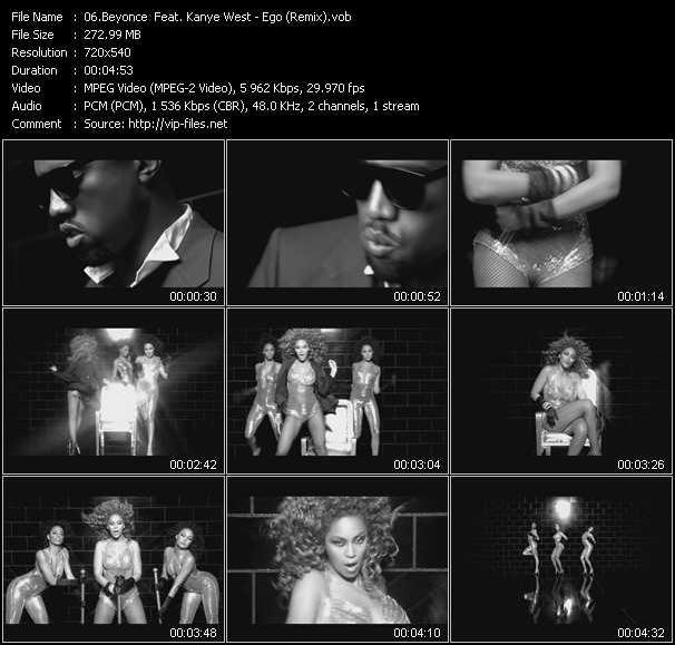 video Ego (Remix) screen