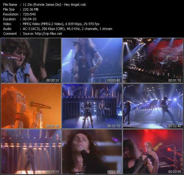 Dio (Ronnie James Dio) video screenshot