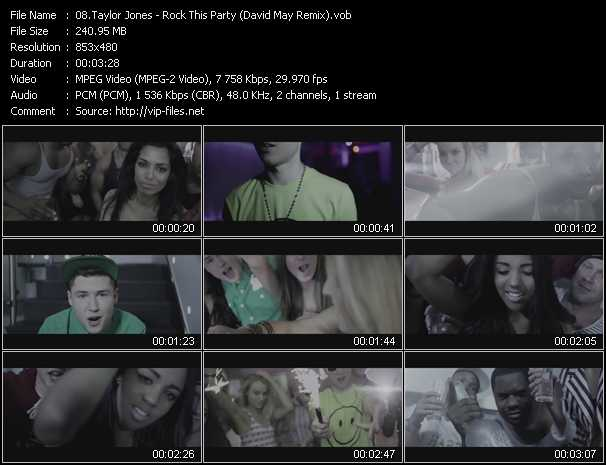 Taylor Jones video screenshot