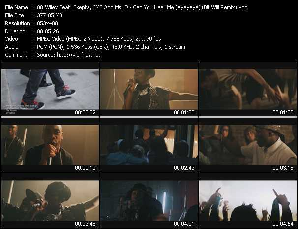 Wiley Feat. Skepta, JME And Ms. D video screenshot