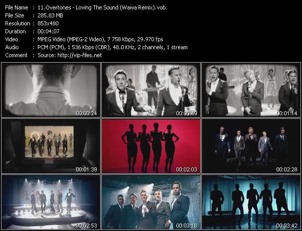 Overtones video screenshot