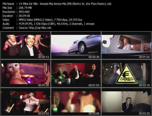Mike De Ville video screenshot