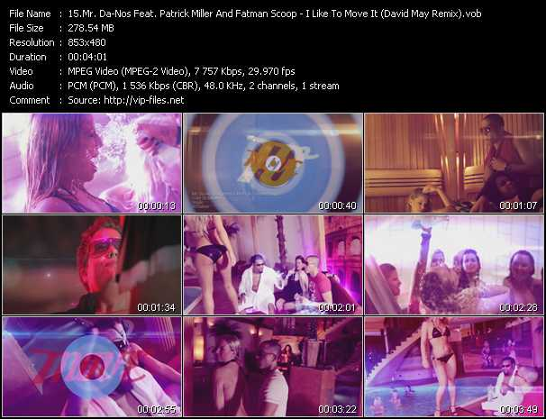 Mr. Da-Nos Feat. Patrick Miller And Fatman Scoop video screenshot