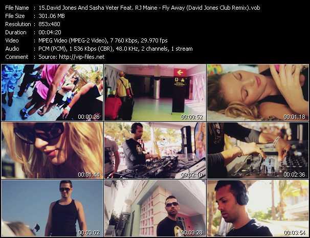 David Jones And Sasha Veter Feat. RJ Maine video screenshot