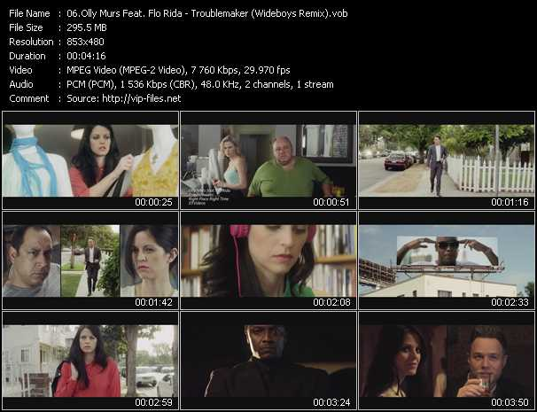 Olly Murs Feat. Flo Rida video screenshot