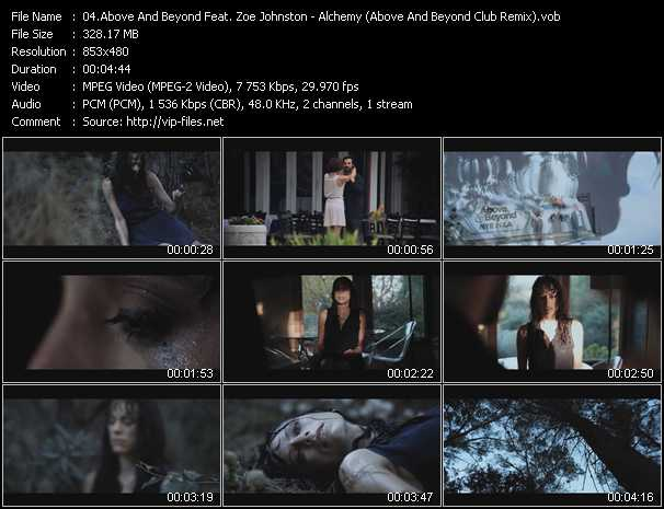 Above And Beyond Feat. Zoe Johnston video screenshot