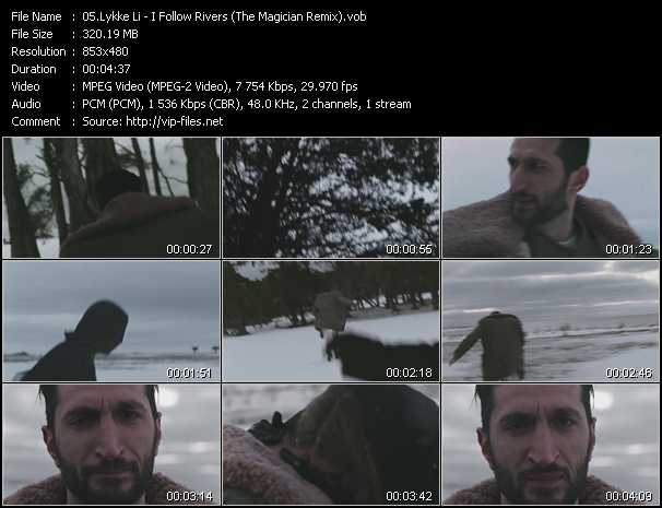 Lykke Li video screenshot