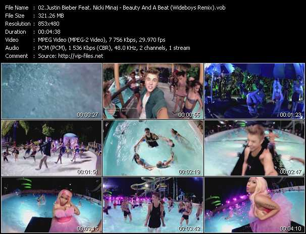 Justin Bieber Feat. Nicki Minaj video screenshot