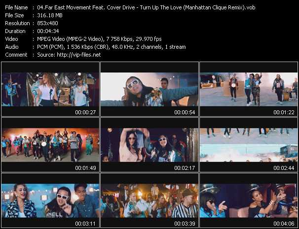 Far East Movement Feat. Cover Drive video screenshot