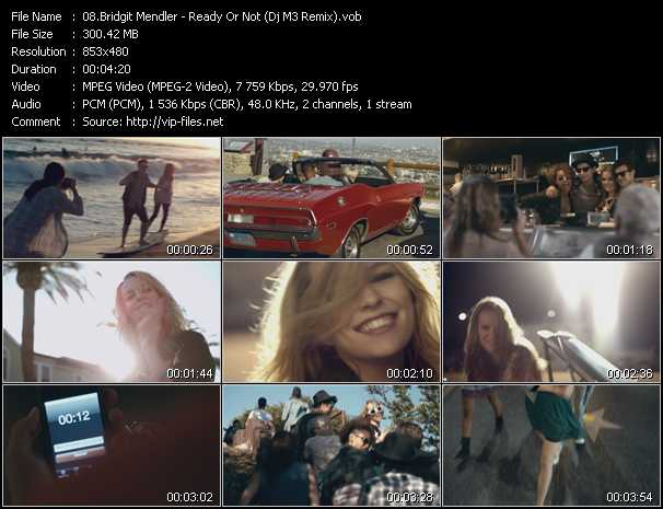 Bridgit Mendler video screenshot