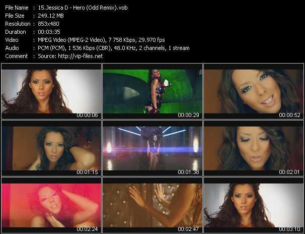 Jessica D video screenshot