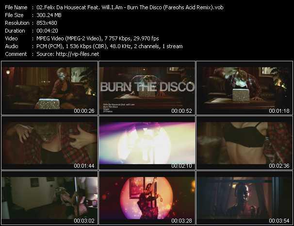 Felix Da Housecat Feat. Will.I.Am video screenshot