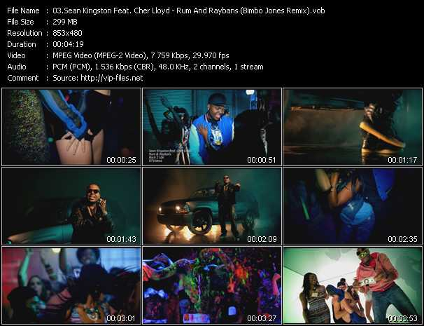 Sean Kingston Feat. Cher Lloyd video screenshot