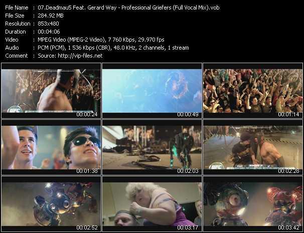 Deadmau5 Feat. Gerard Way video screenshot