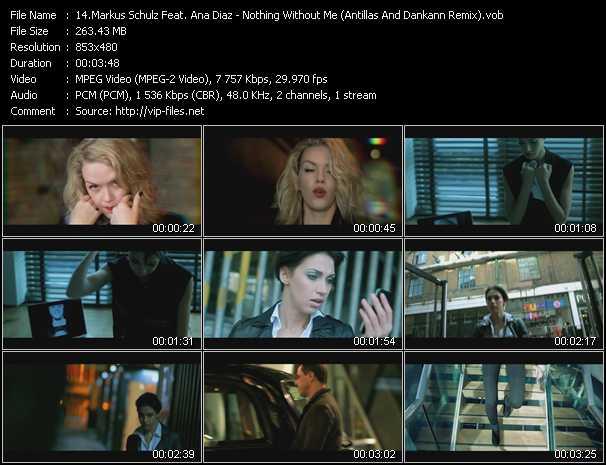 Markus Schulz Feat. Ana Diaz video screenshot