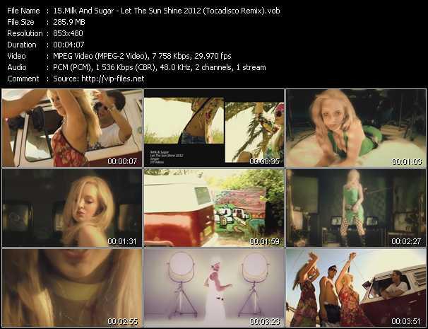 Milk And Sugar video screenshot