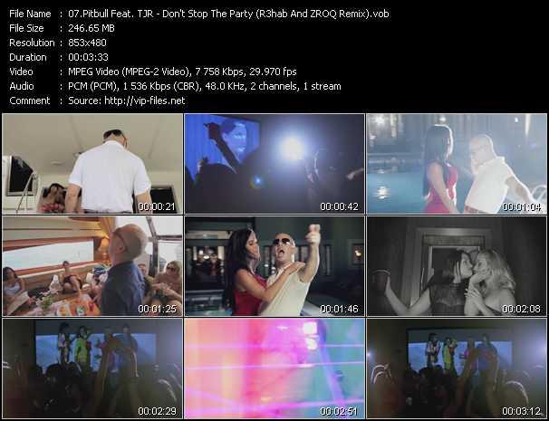 Pitbull Feat. TJR video screenshot