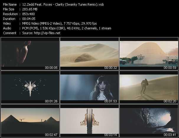 Zedd Feat. Foxes video screenshot