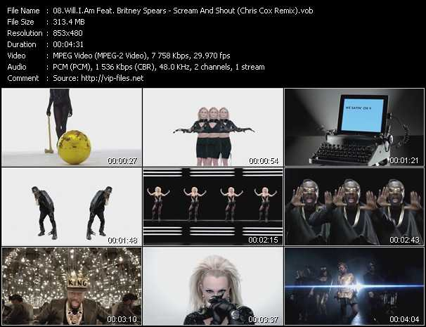 Will.I.Am Feat. Britney Spears video screenshot