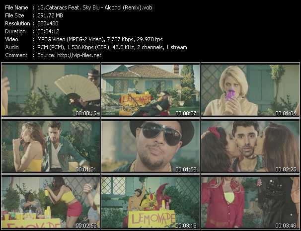 Cataracs Feat. Sky Blu video screenshot