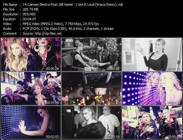 Carmen Electra Feat. Bill Hamel video screenshot
