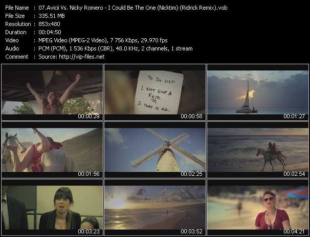 Avicii Vs. Nicky Romero video screenshot