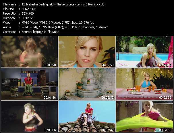 Natasha Bedingfield video screenshot