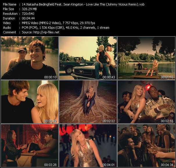 Natasha Bedingfield Feat. Sean Kingston video screenshot