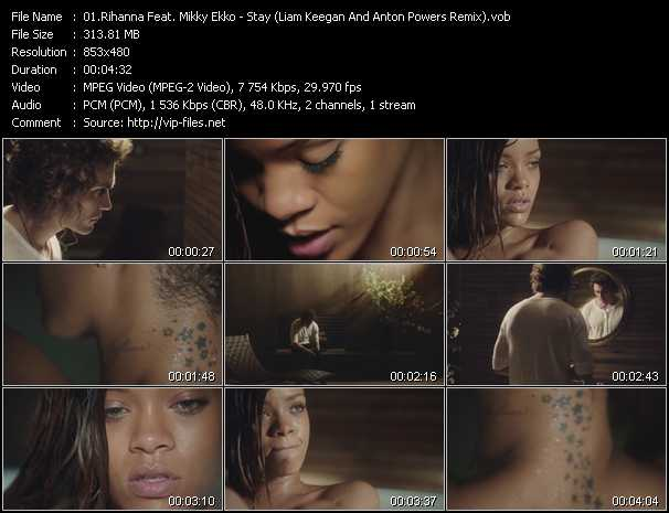 Rihanna Feat. Mikky Ekko video screenshot