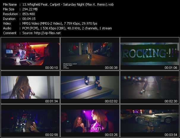 Whigfield Feat. Carlprit video screenshot