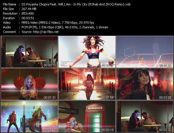 Priyanka Chopra Feat. Will.I.Am video screenshot