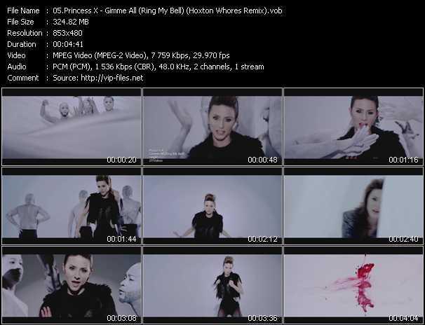 Princess X video screenshot