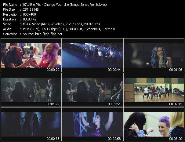 Little Mix video screenshot