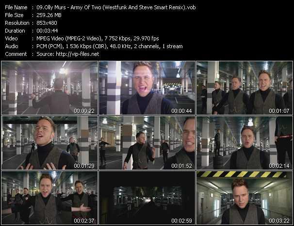 Olly Murs video screenshot