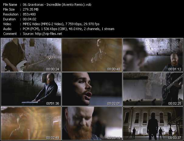 Gravitonas video screenshot