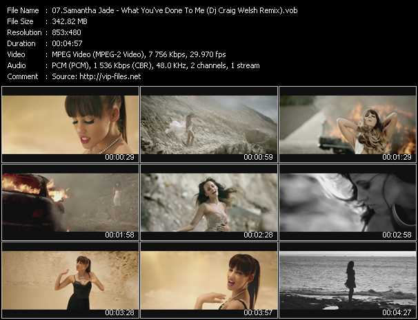 Samantha Jade video screenshot