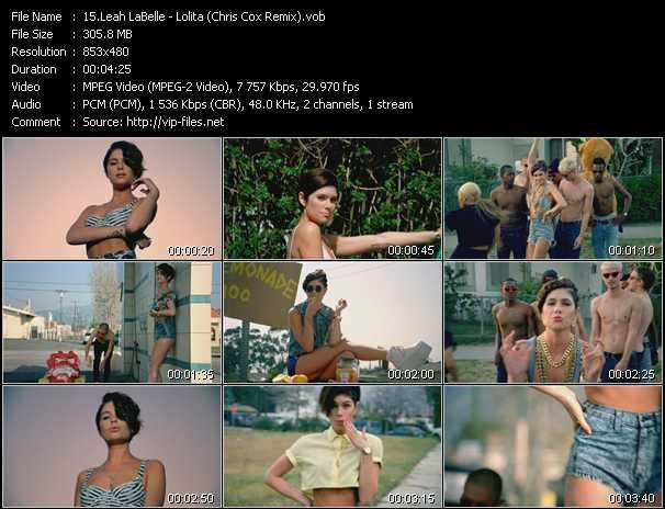 Leah LaBelle video screenshot
